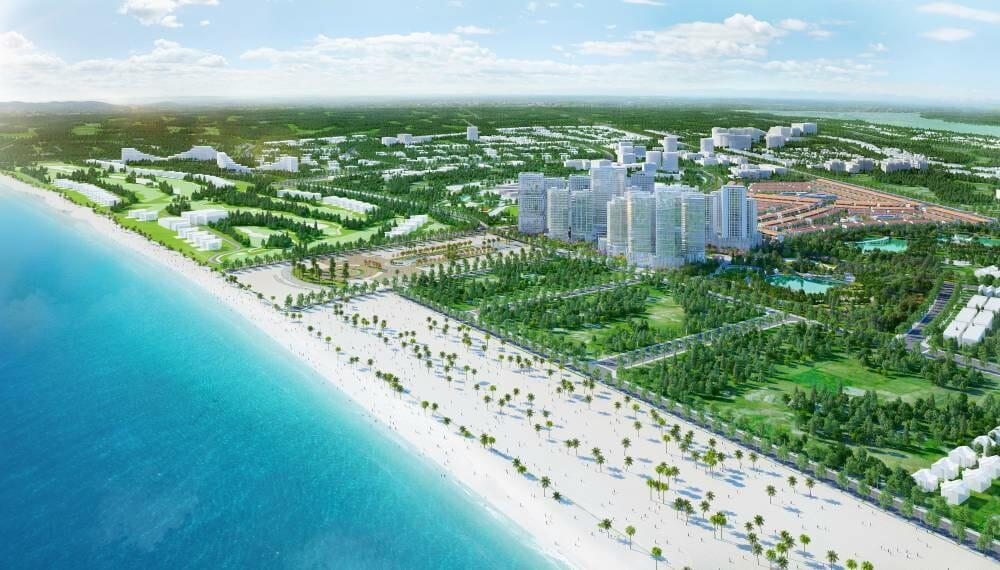 Lợi thế vị trí trung tâm của dự án Takashi Ocean Suite